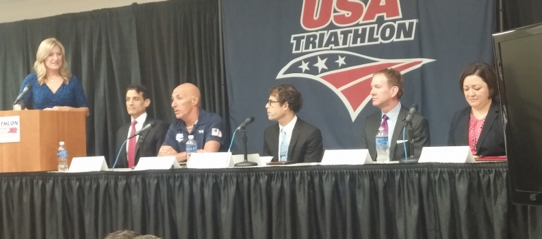 Media Coverage of the USA Triathlon Press Conference