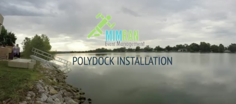 PolyDock Installation at Carter Lake