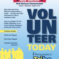 Volunteers Needed for the the USA Triathlon Age Group National Championships
